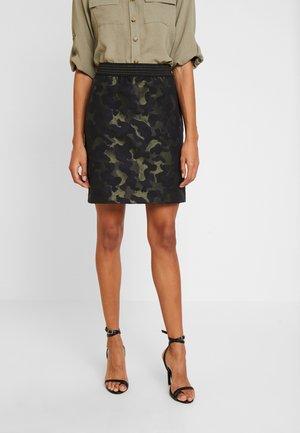LUNA - Mini skirts  - olivgrün