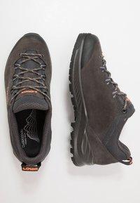 Lowa - LOWA® EXPLORER - Hiking shoes - anthrazit/koralle - 1
