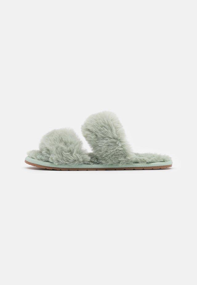 Pantoffels - khaki