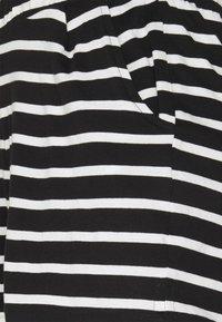 ONLY - ONLMAY LIFE STRIPE 2 PACK  - Shorts - black/black - 4