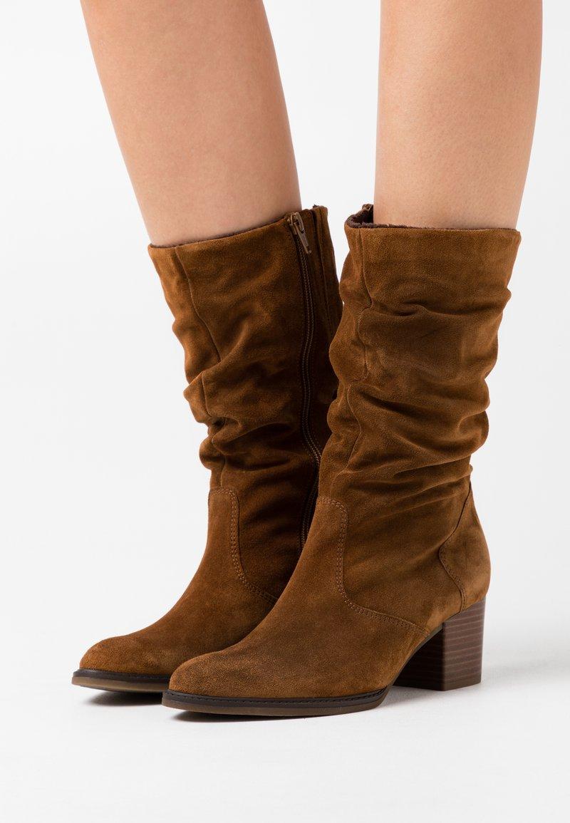 Gabor Comfort - Boots - cognac