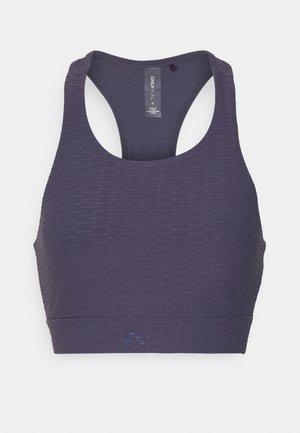 ONPASHUA BRA - Medium support sports bra - graystone