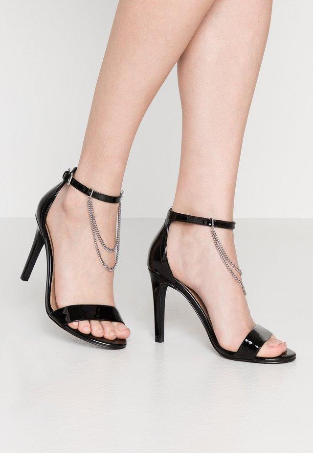 ONLAILA CHAIN  - Korolliset sandaalit - black