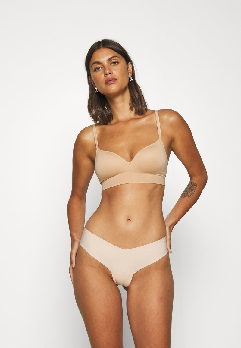 Gilly Hicks - NO SHOW THONG 3 PACK - Thong - nude