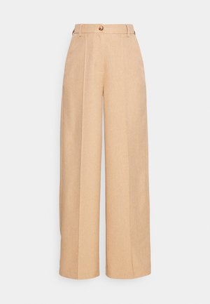 WIDE SUIT PANTS - Tygbyxor - sunset