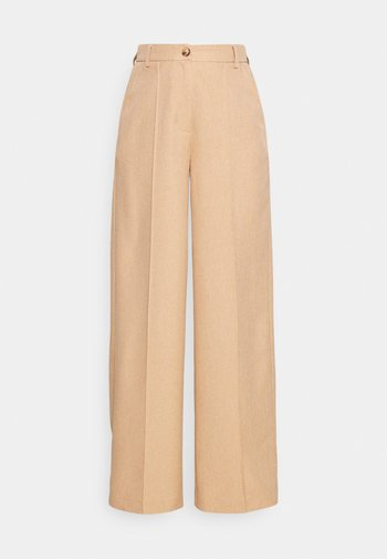 WIDE SUIT PANTS - Stoffhose - sunset