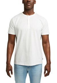 Esprit - PIQUE - Basic T-shirt - off white - 5
