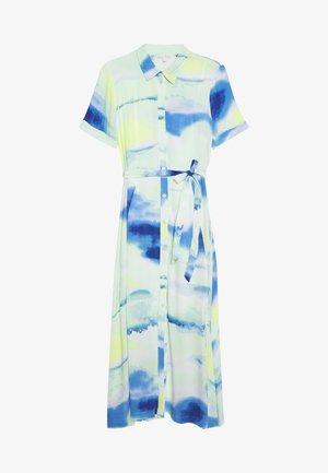 MIDI TIE DYE DRESS - Maxi dress - green/blue