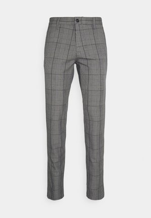 SLHSLIM STORM FLEX SMART PANTS - Pantalon classique - grey/blue