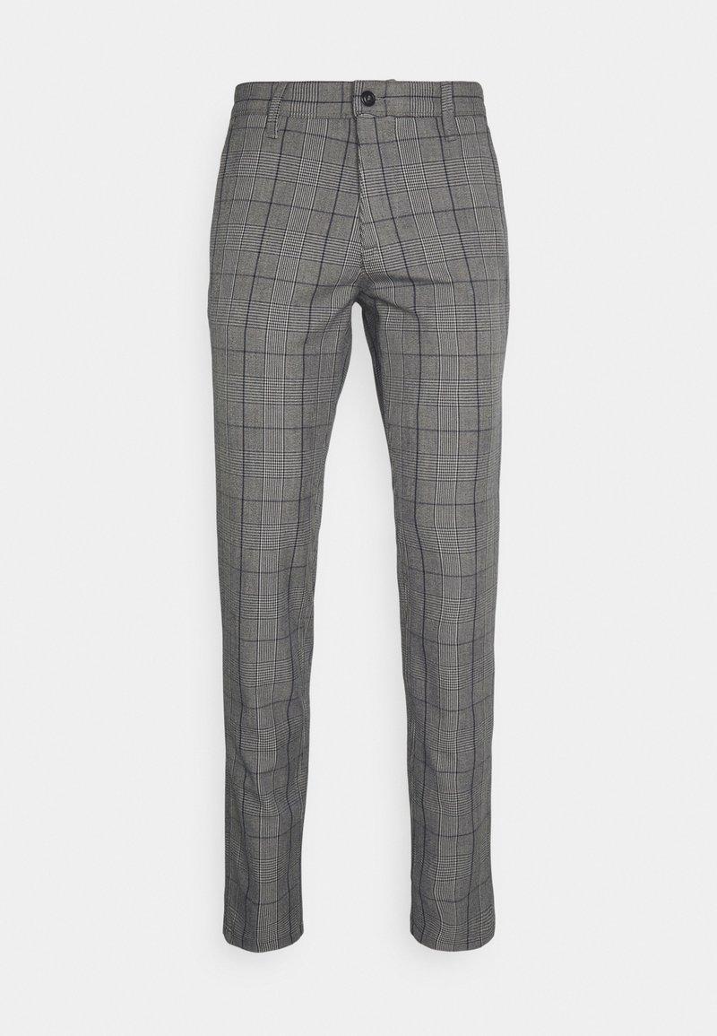 Selected Homme - SLHSLIM STORM FLEX SMART PANTS - Pantaloni - grey/blue
