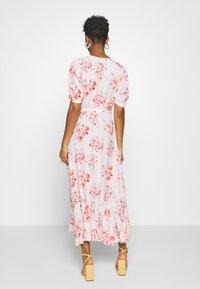 YAS - YASSINA ANKLE WRAP DRESS - Maxi dress - pale lilac - 2