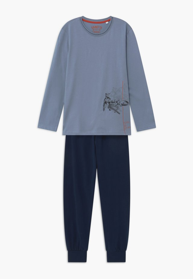 PYJAMA LONG - Pyjama set - blue-fog