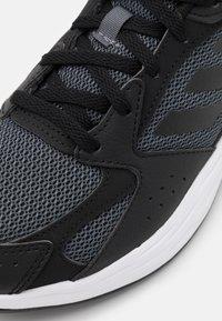 adidas Performance - RESPONSE RUN - Neutral running shoes - grey five/core black/dash grey - 5