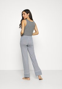 Etam - WARM DAY PANTALON - Pyjama bottoms - marine - 2