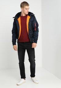 Alpha Industries - HOODED STANDART FIT - Light jacket - rep blue - 1