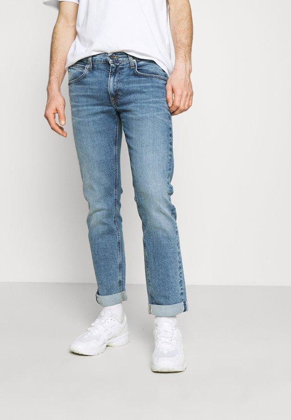 Lee DAREN ZIP FLY - Jeansy Straight Leg - mid sidney/niebieski denim Odzież Męska HEQF
