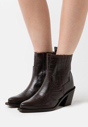 PSSANTIAGO BOOT - Cowboystøvletter - mole