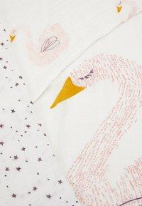 Lässig - HEAVENLY SOFT SWADDLE LITTLE WATER SWAN 3 PACK UNISEX - Muslin blanket - purple - 2