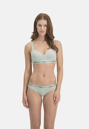 PADDED TOP 1P - Push-up BH - green