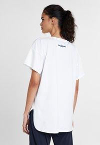 Desigual - Print T-shirt - white - 2