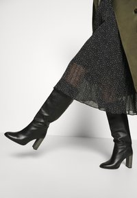 edc by Esprit - SKIRT - A-line skirt - black - 4