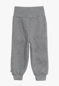 Müsli by GREEN COTTON - WOOLLY PANTS BABY - Tygbyxor - pale grey marl - 1