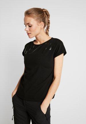 ELZE - Print T-shirt - black