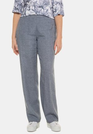MANDY - Trousers - mitternachtsblau