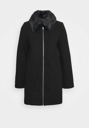 JACKET - Classic coat - black
