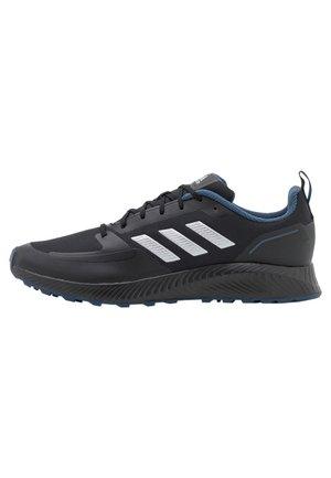RUNFALCON 2.0 TR - Chaussures de running neutres - core black/silver metallic/crew navy
