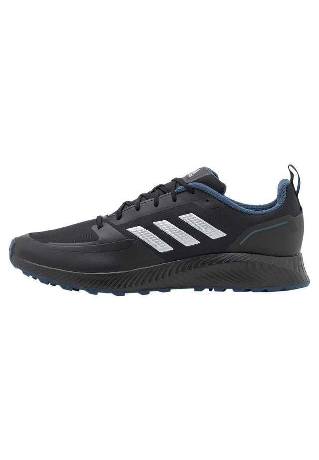 RUNFALCON 2.0 TR - Neutral running shoes - core black/silver metallic/crew navy
