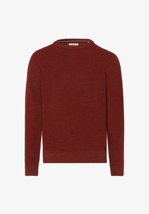 STYLE ROY - Strickpullover - rust