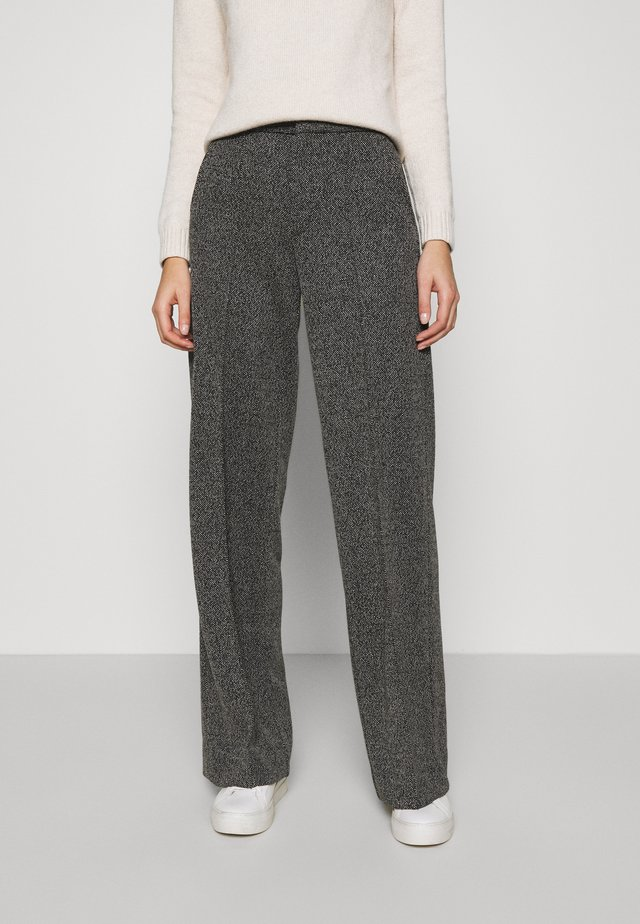 24HR WIDE LEG - Bukse - grey heather