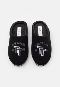 TOM TAILOR - Slippers - black - 3