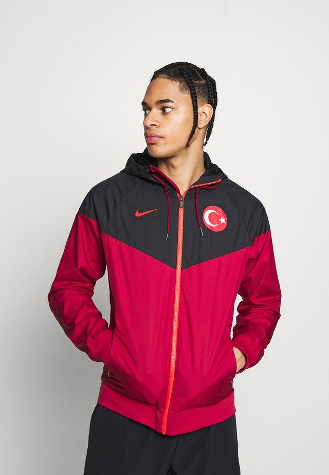 TÜRKEI - Voetbalshirt - Land - red crush/black/habanero red