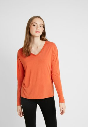 COLUMBINE - Long sleeved top - burnt ochre