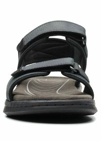 Clarks - CREEK - Walking sandals - black leather - 5
