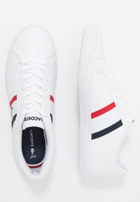 Lacoste - LEROND - Baskets basses - white/navy/red - 1