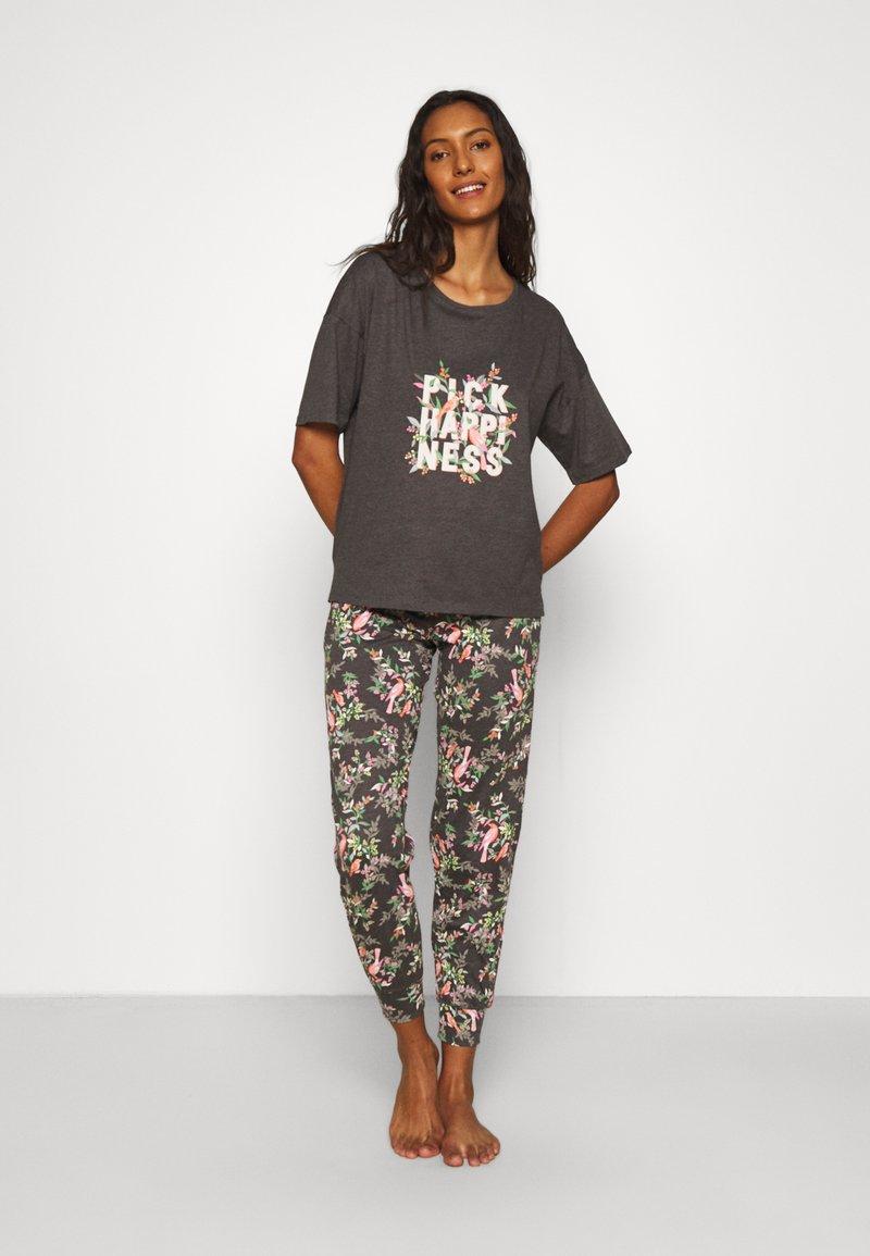 Marks & Spencer London - HAPPINESS - Pyjamas - charcoal
