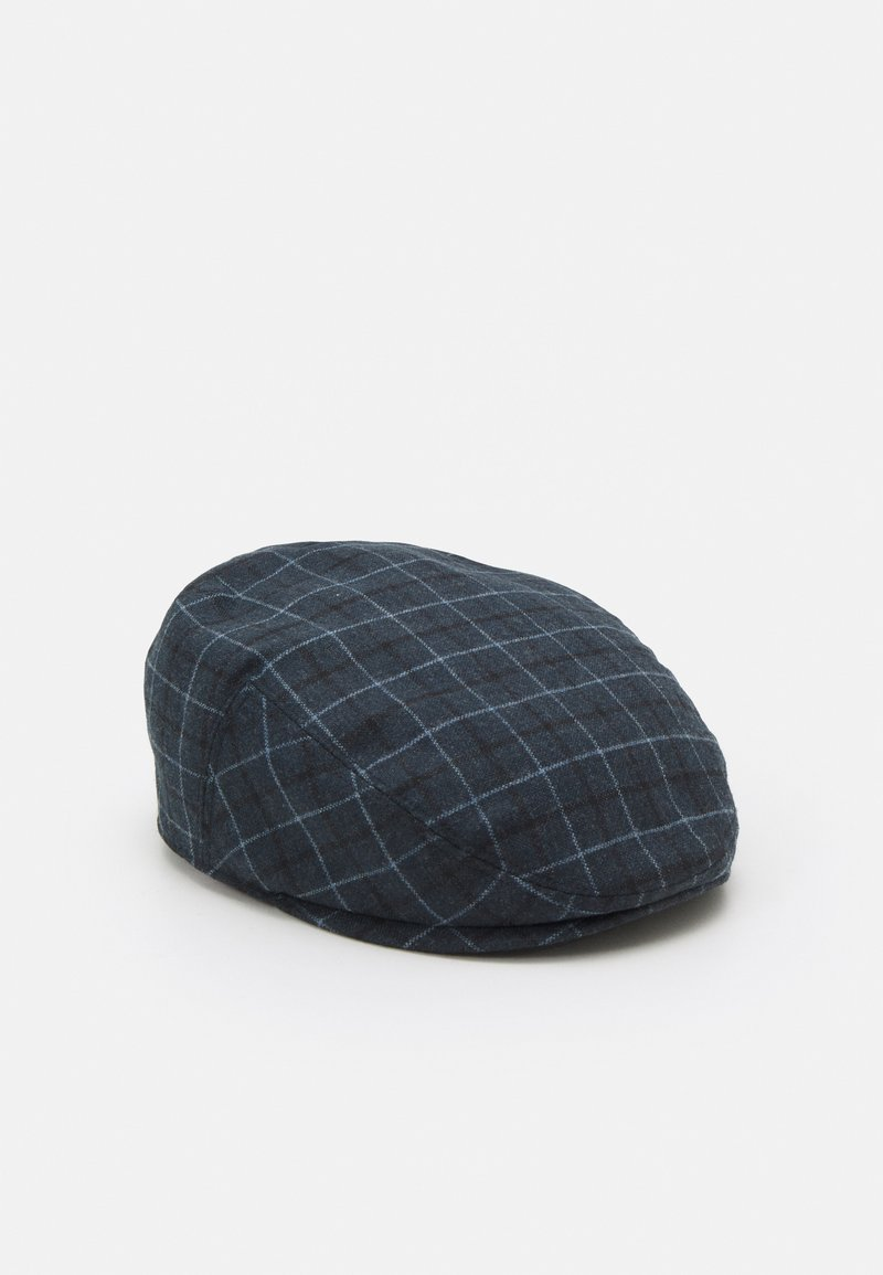 Shelby & Sons - GREGORY FLATCAP - Klobouk - navy