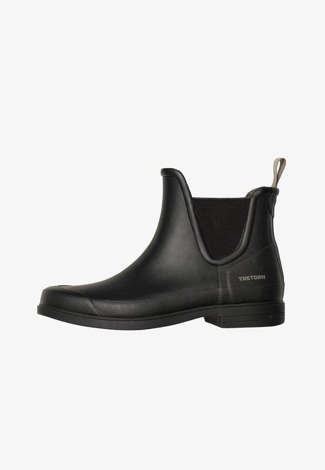 Gummistøvler - black/black