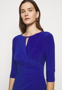 Lauren Ralph Lauren - MID WEIGHT DRESS TRIM - Robe fourreau - french ultramarin - 3