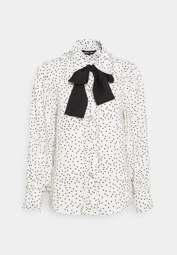 GET TOGETHER RUFFLE BOW BLOUSE