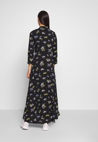 YAS - YASSAVANNA LONG DRESS - Maxikjole - black - 2