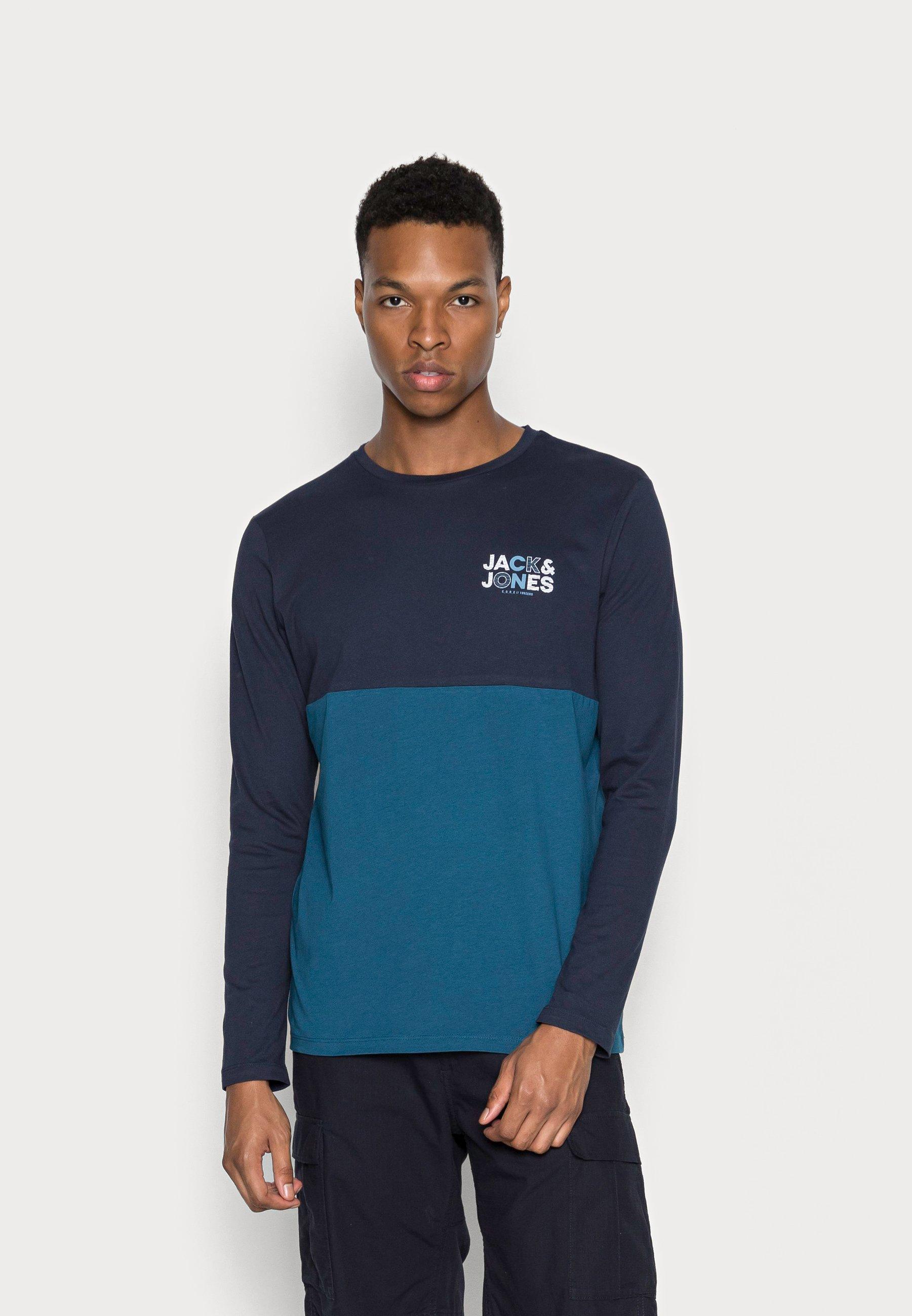 Men JCOSTEVE TEE CREW NECK - Long sleeved top