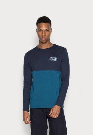 JCOSTEVE TEE CREW NECK - Long sleeved top - navy blazer