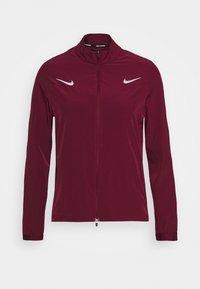 OLYMPICS JACKET TRACKSUIT - Sports jacket - dark beetroot