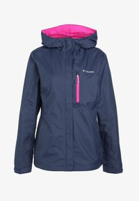 Columbia - POURING ADVENTURE JACKET - Hardshell jacket - dark blue - 5