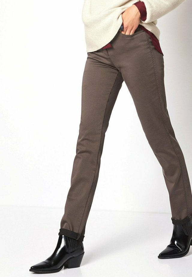 BELOVED CS BOMULL - Trousers - taupe