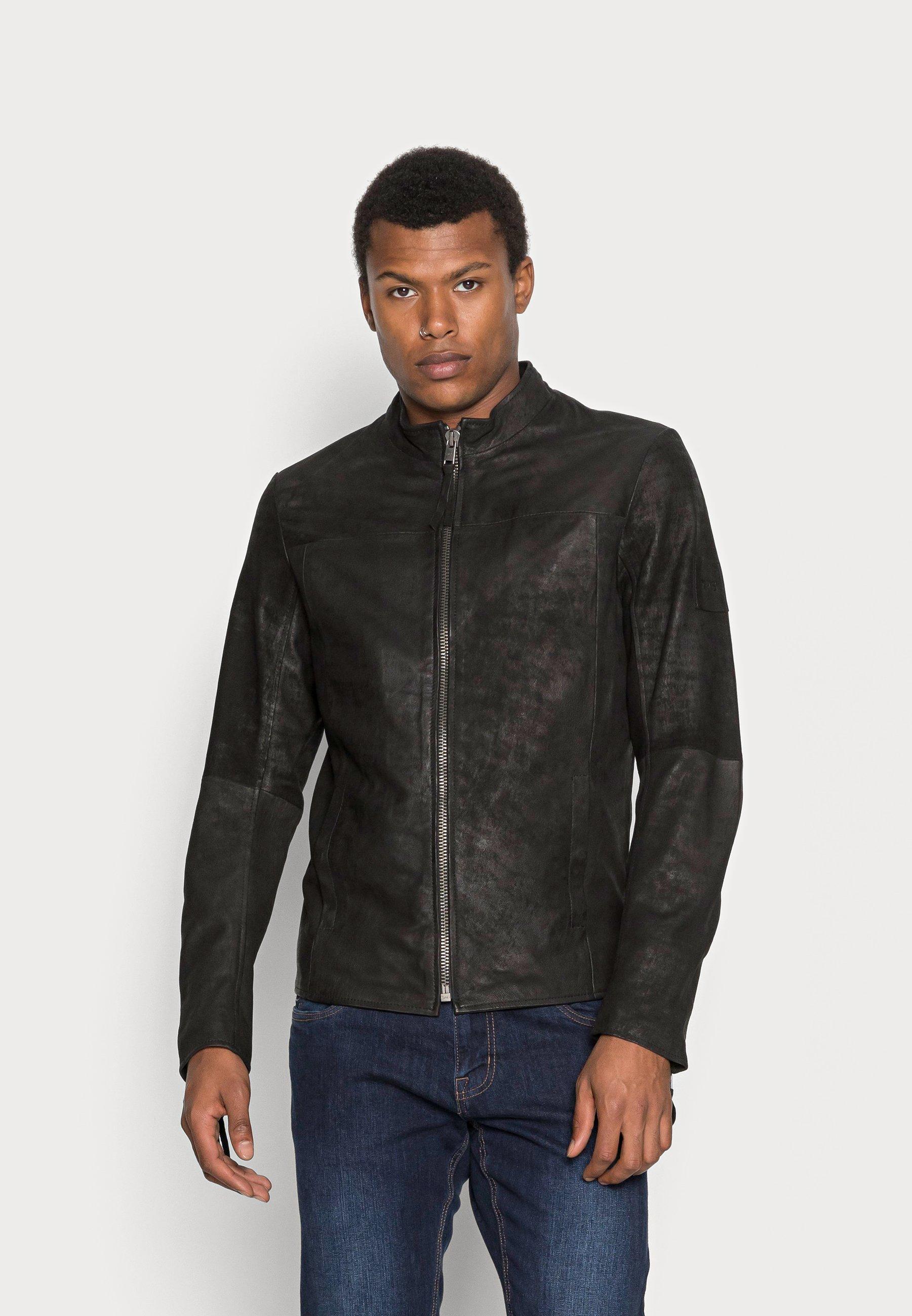 Men WILSON BUFFED - Leather jacket